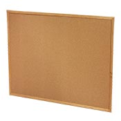 cork bulletin board for your mobile office trailer